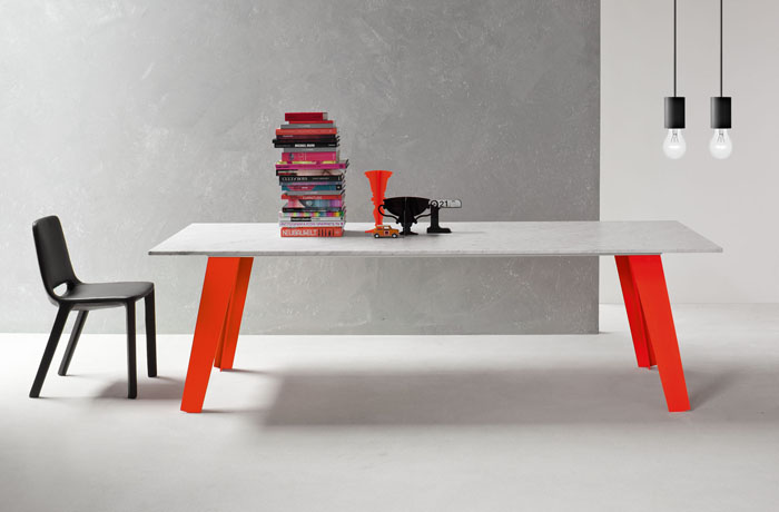 Bonaldo Welding Dining Table designed by Alain Gilles